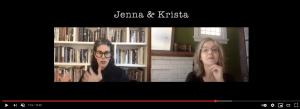 two women in split screen in conversation